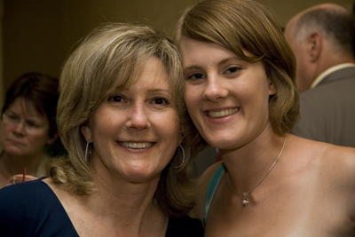 Katie's Aunt and bridesmaid